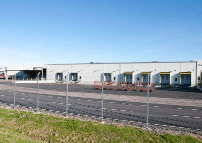 Nybyggnad godsmottagning TC Söder, Volvo Personvagnar