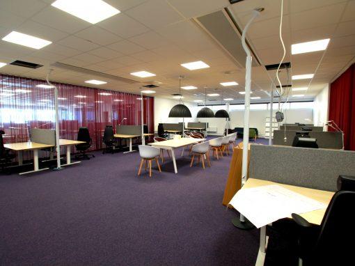 Projekt Day @ Work, ombyggnad kontorslandskap