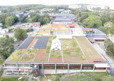 Frölunda Kulturhus – Takomläggning och byte av fasadpartier