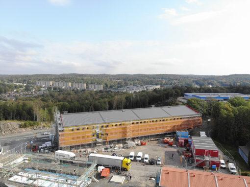 Saffransgatan – Nybyggnation av skola