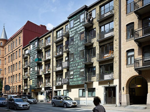 Tengérsgatan – Påbyggnad av flerbostadshus